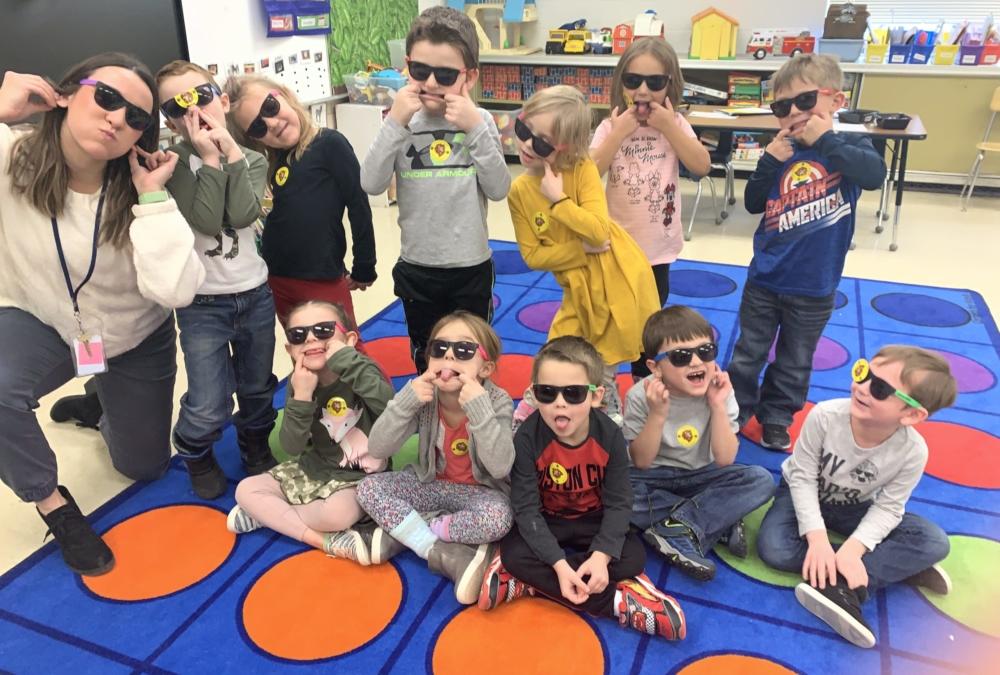 kindergarten cool kids