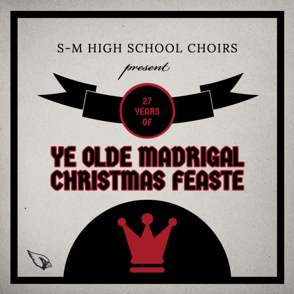sent 27 years of Ye Olde Madrigal Christmas Feaste